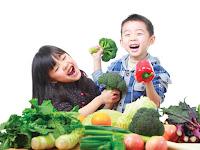 Tips Agar Anak Kecil Mau Makan Sayur