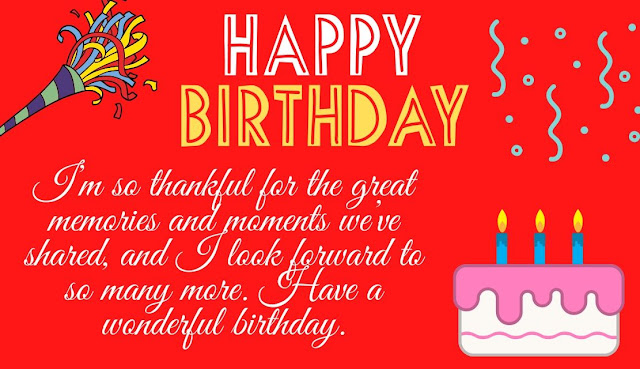 Happy birthday wishes for friend with image