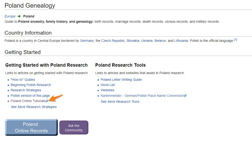 Ancestry Island: Fantastic Find: FamilySearch Poland
