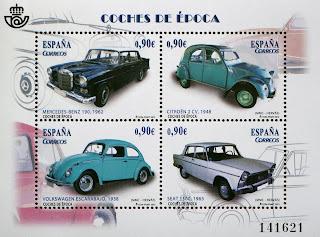 WOLKSWAGEN ESCARABAJO, CITROEN 2 CV, SEAT 1500 Y MERCEDES-BENZ 190