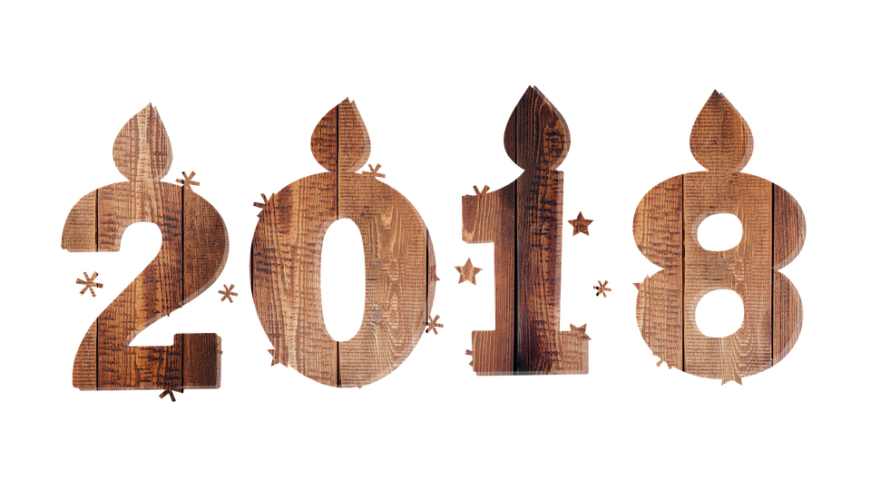 happy new year 2018 png image