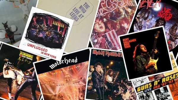 ROCK AROUND: Μερικά απο τα καλύτερα live albums όλων των εποχών