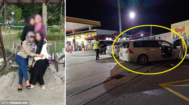 3 maut, 1 kritikal akibat lemas dalam kereta yang enjinnya masih hidup