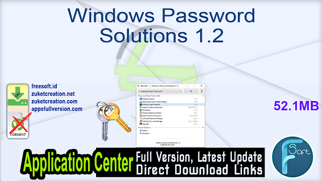 Windows Password Solutions 1.2