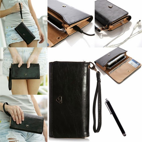 iphone 5 multifunctional wallet case for women