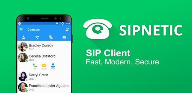 قم بتنزيل Sipnetic  - تطبيق الاتصال باستخدام تقنية Voip لنظام الاندرويد
