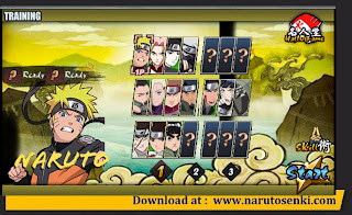 Naruto Senki the Last Fixed V1.22 Mod by 7th Month