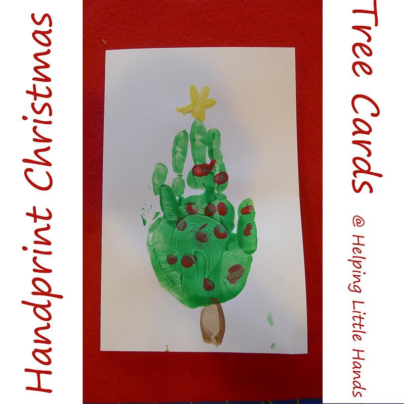 christmas tree handprint -#main