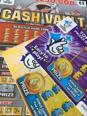 National Lottery Scratch Cards