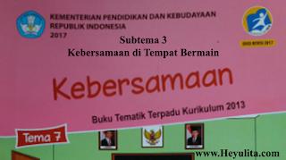 Soal tematik kelas 2 tema 7 subtema 3