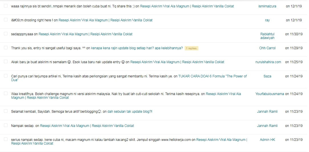 tips blog komen di blog penting