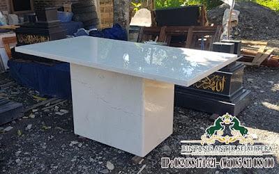 Harga Meja Marmer Tulungagung, Meja Model Kotak Marmer