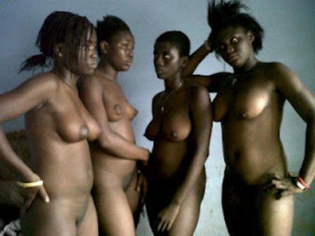 naked black females ass