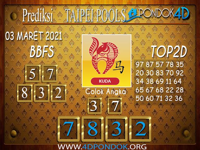 Prediksi Togel TAIPEI PONDOK4D 03 MARET 2021
