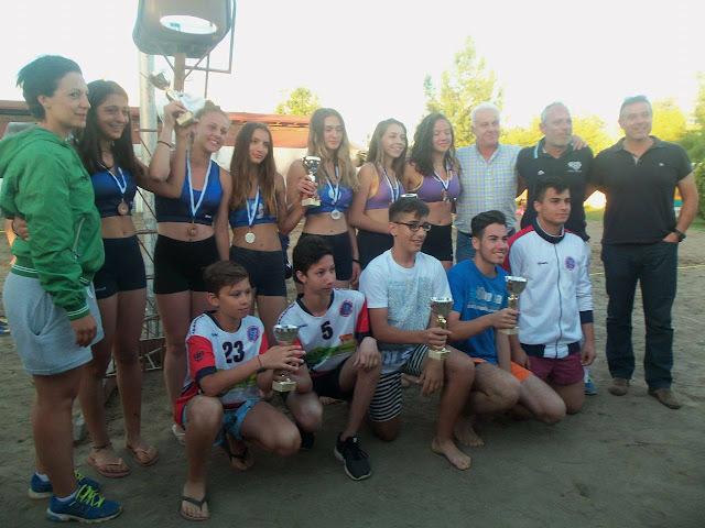 Ολοκληρώθηκε με επιτυχία το Τουρνουά Beach Volley του Δήμου Λαρισαίων για παιδιά έως 18 ετών (ΦΩΤΟ)