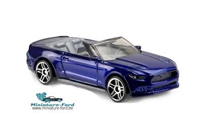 Hot Wheels, 2015 Ford Mustang gt convertible