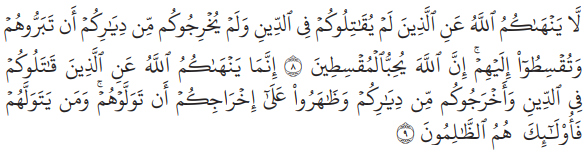 Dalil Toleransi dalam Al-Qur'an