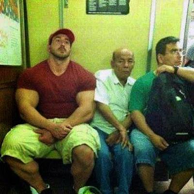 Bodybuilder lustig