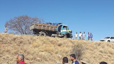 Grave acidente deixa duas pessoas mortas e outra ferida na BR – 349, em Bom Jesus da Lapa