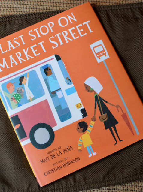 Last Stop On Market Street, part of September Reading Roundup - favorite book finds from my family to yours.