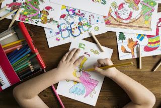 Lápis - A criança da Educação Infantil.