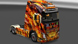 Flame Dragon Skin Pack