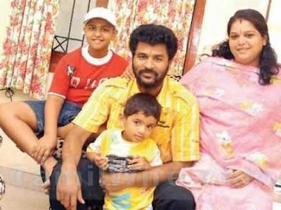 prabhu deva with family