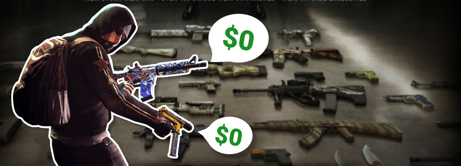 Free CS:GO skins | without deposit and with without