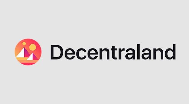 Logo Decentraland (MANA) Cryptocurrency