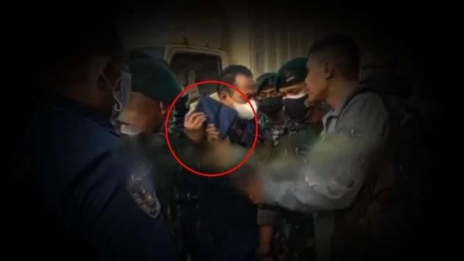 Ini Perlakuan Kasar Polisi Posko PPKM yang Bikin Paspampres TNI Tersulut Emosi