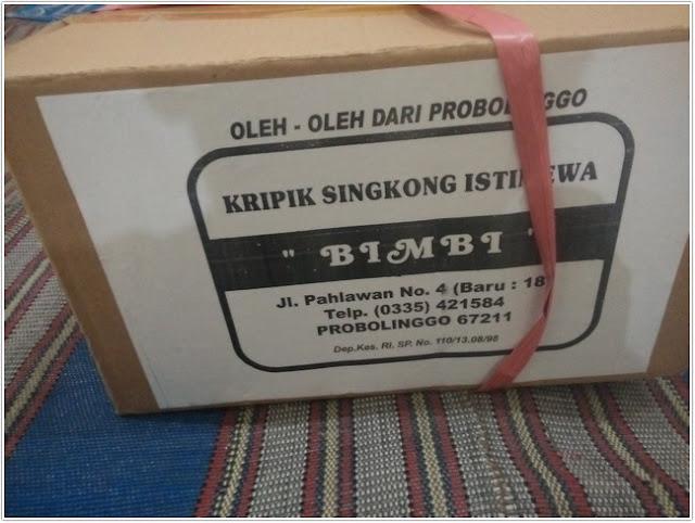 """Keripik singkong """"Bimbi"""";Keripik Singkong """"Bimbi"""" Oleh-oleh Khas Probolinggo;"""
