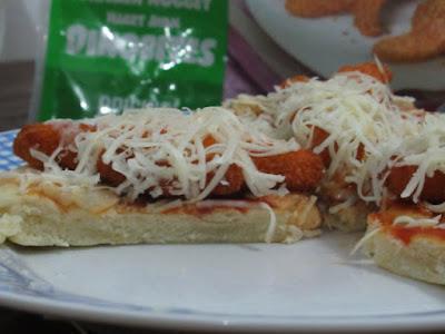 Pizza siap dihidangkan