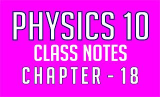 Physics 10 Class Notes