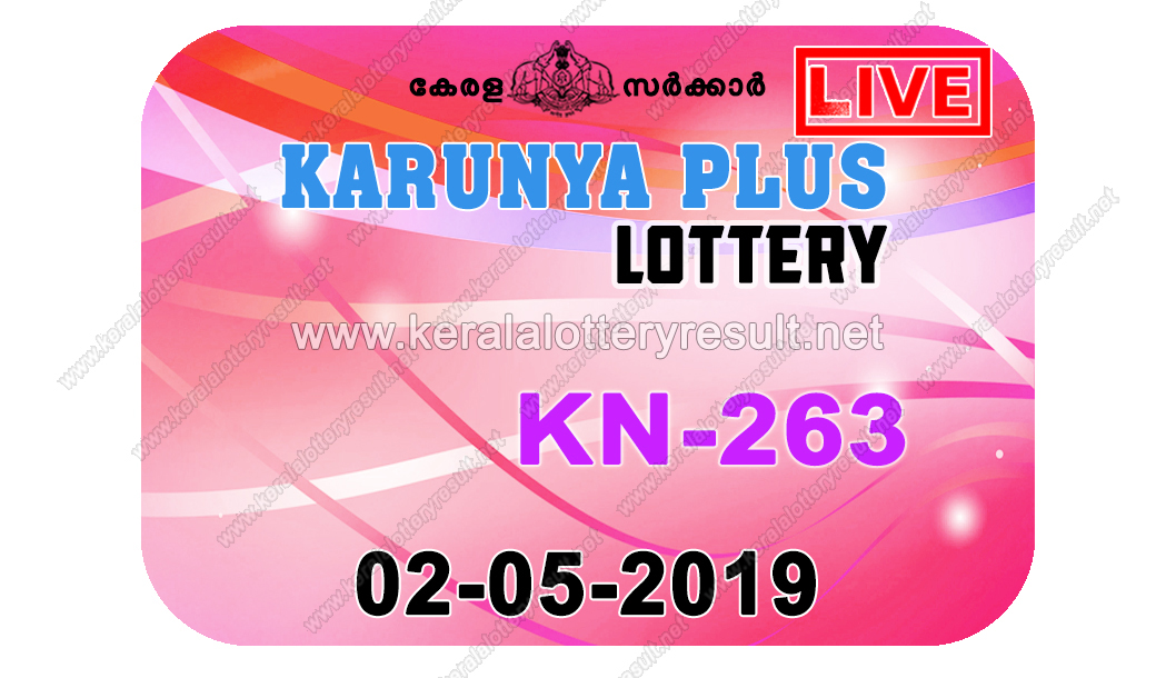 Kerala Lottery Result 02/05/2019 ; Karunya Plus Lottery