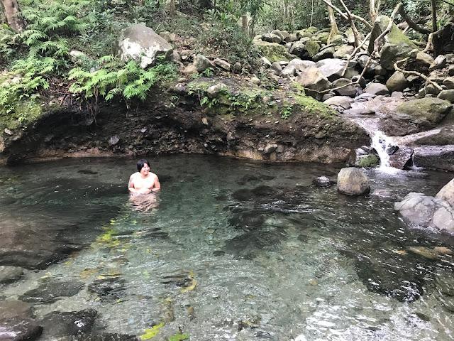 Natural Pool at Orani River