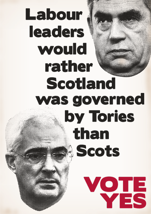 Labour's leaders don't want Scots ruling Scots