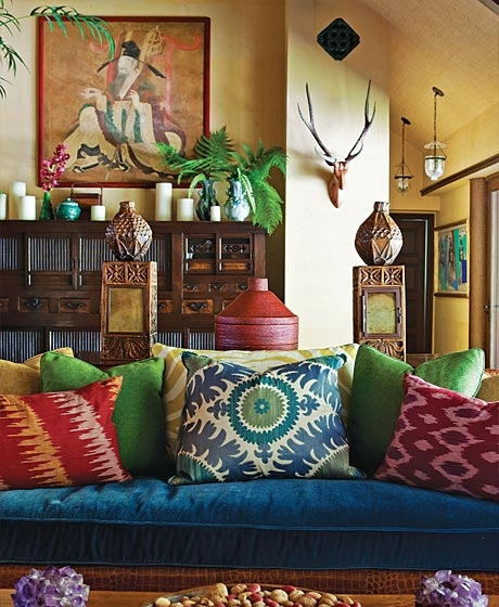 Bright And Bold Bohemian Sofas