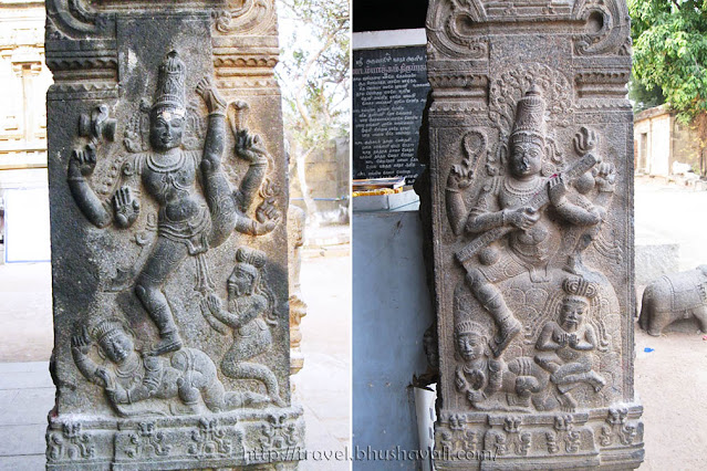 Madambakkam Dhenupureeswarar Temple Sculptures