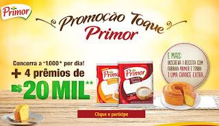 Promoção Farinha Primor 2017