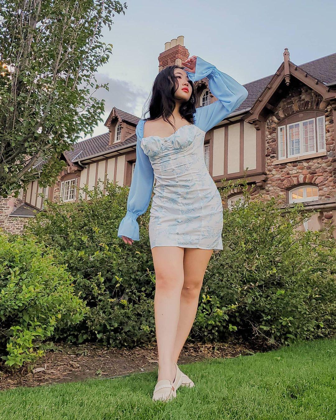 Vestido cottagecore justo