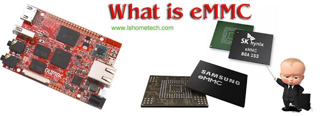 What is EMMC storage?