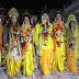 गाजीपुर: श्रीराम, भरत, लक्ष्मण, शत्रुघन मिलन के मंचन को देखकर श्रद्धालुओं के आंखों में आए आंसू