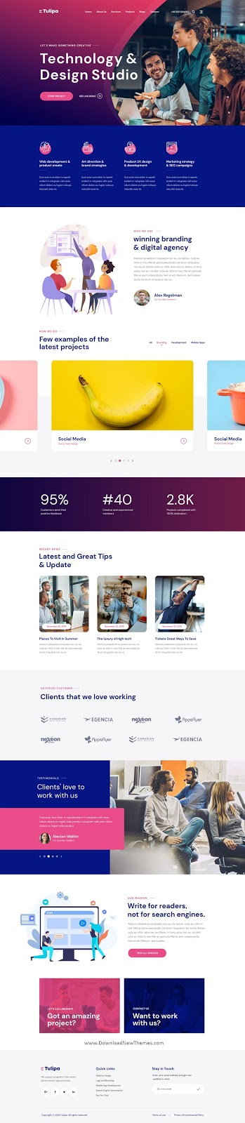 Multipurpose Portfolio & Agency Template