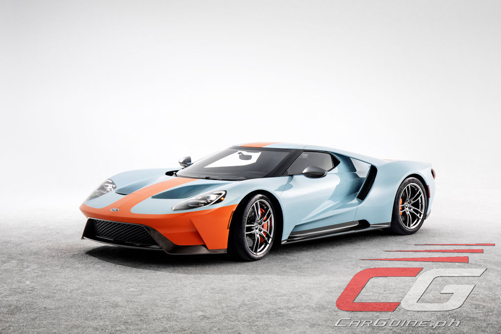 Ford Pays Tribute To Le Mans Winning Ford Gt40 With Special Heritage
