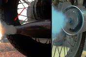 Ternyata ini Penyebab Knalpot Motor Matic dan Karbu Keluar Asap