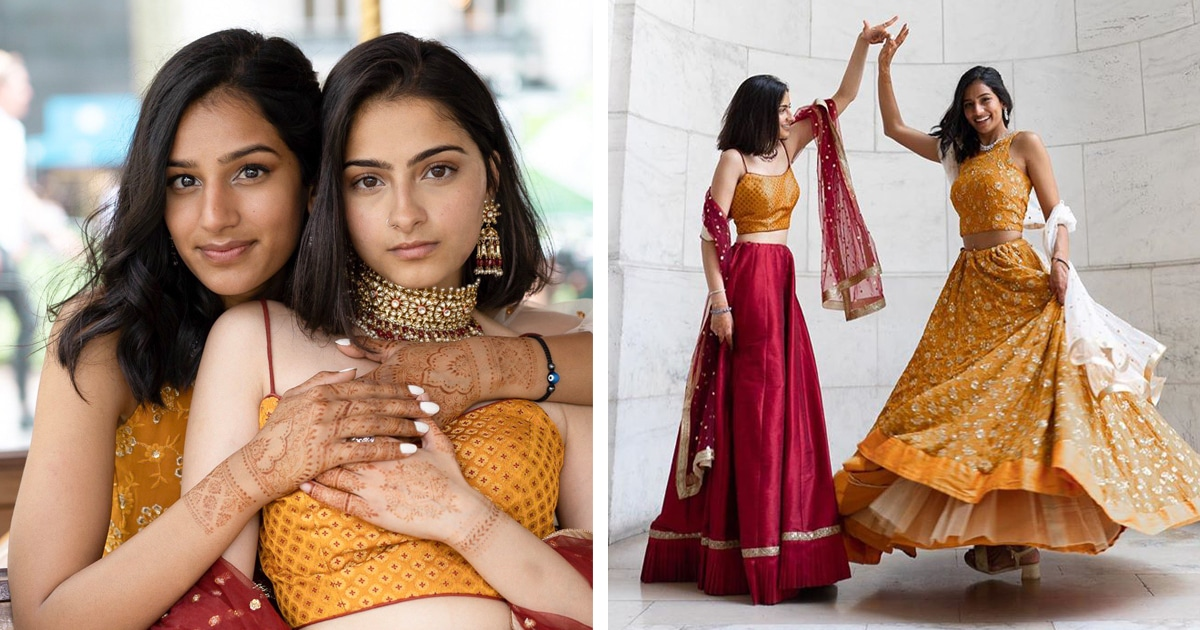 Mesmerizing Photoshoot Celebrates The Powerful Love Of A Same-Sex Hindu-Muslim Couple