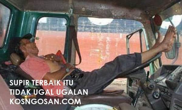kata mutiara sopir truk