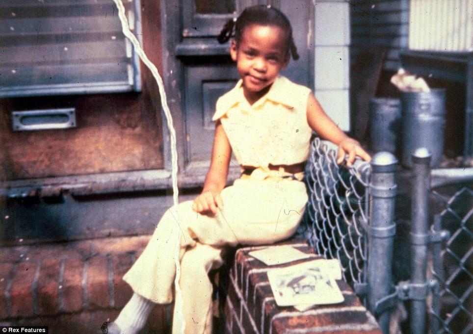 Child: Houston,... Young Whitney Houston