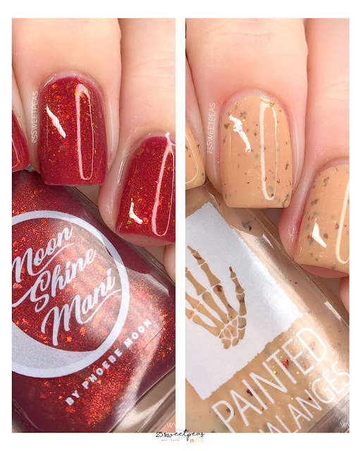 Moon Shine Mani + Painted Phalanges Collab | The Office-isms Part 3
