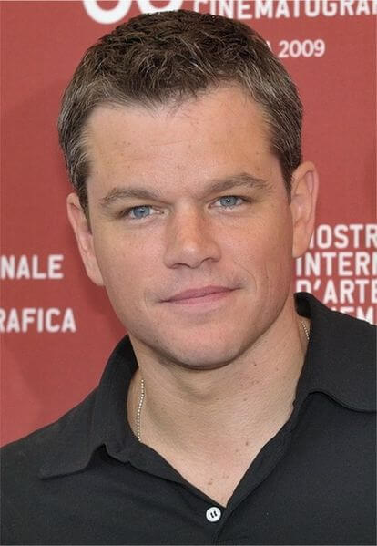 Matt Damon іn Dalkey